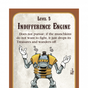 Indifference Engine Munchkin Steampunk Promo Card cover