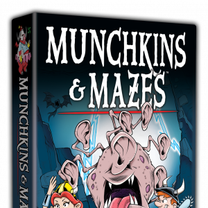 Munchkins & Mazes cover