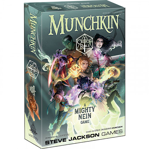 Munchkin: Critical Role cover