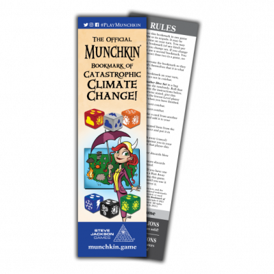 Weather Dice and a New Munchkin Bookmark cover