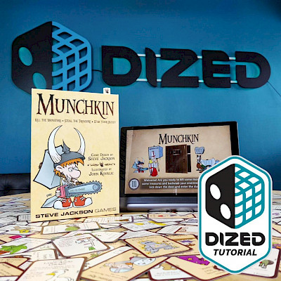 Munchkin Tutorial on Dized! cover